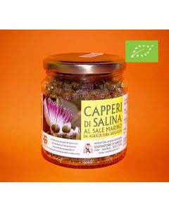 Organic Salina Capers in Sea Salt - Slow Food Presidia