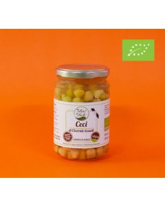 Organic Boiled Chickpeas of Cicerale