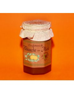Artisanal Apricot Jam with honey