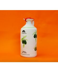 Extra Virgin Olive Oil in Traditional Ceramic Jug
